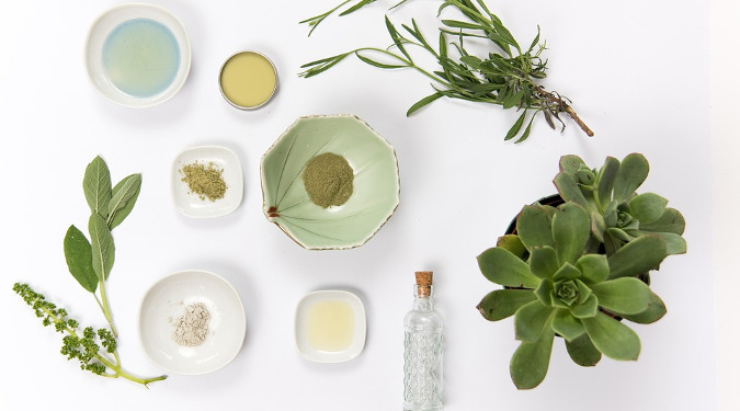 Cosmetic ingredients from plants such as Plant Stem Cells, Chorella and anti-oxidants with Curoxidant.