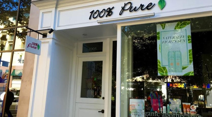 100 Pure has expanded and now has 12 stores and 200 employees.